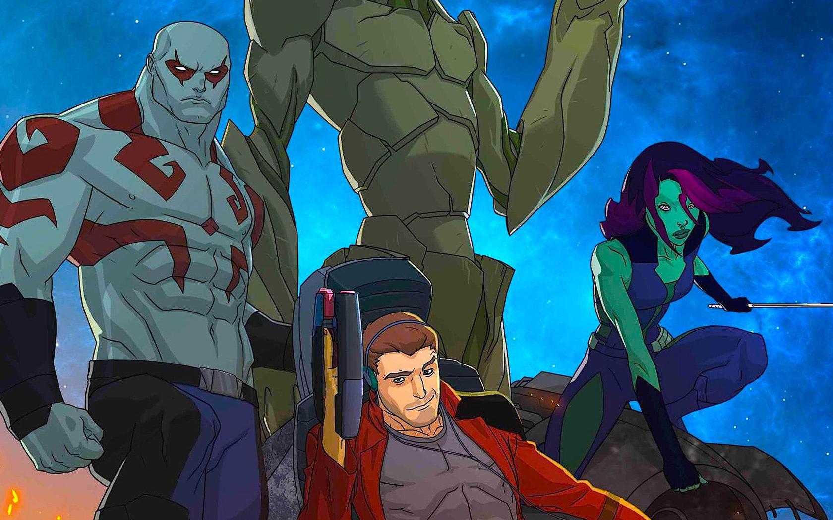 Marvel i guardiani della galassia: stagione 1 tv sorrisi e canzoni
