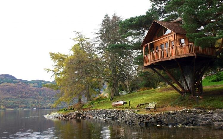 Design hotel casa sull albero on the lake of como easyrelooking