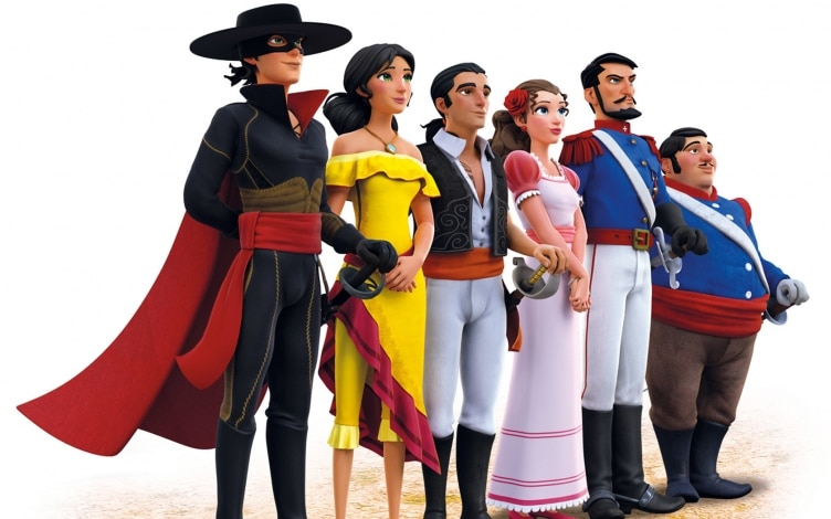 Zorro u2013 la leggenda: guida tv tv sorrisi e canzoni